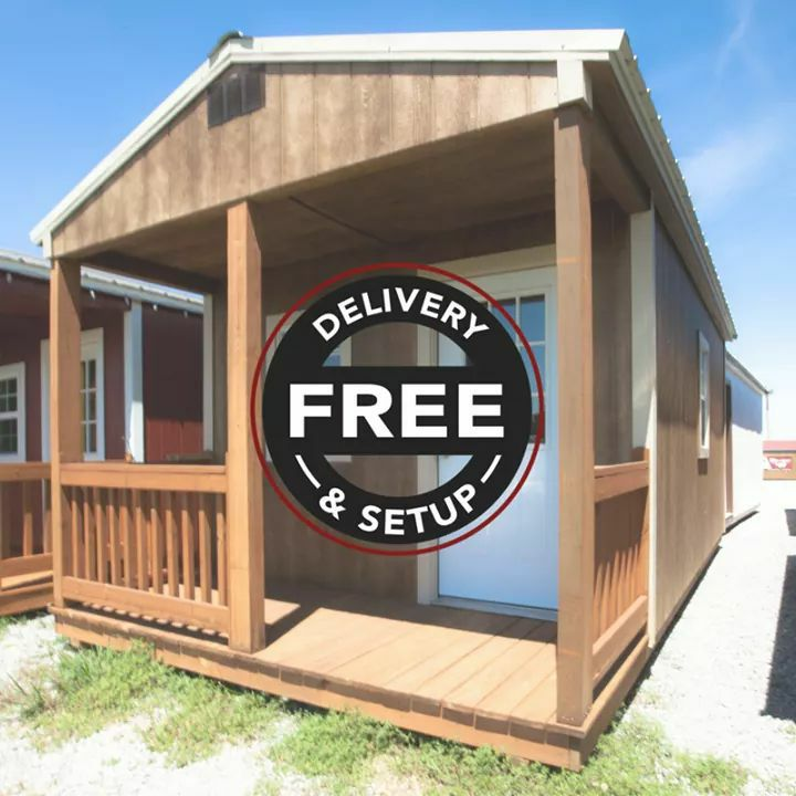 Free Shed Delivery and Setup